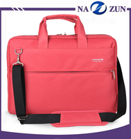 Adjustable Shoulder Anti-Water Material Men Polyester Laptop Bag 18.4 inch Men Laptop Case