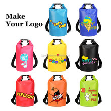 High Quality 30l Waterproof Roll Top Backpack 500 D PVC Tarpaulin Material Fashion Waterproof Dry Bags For Swimsuit