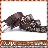 Good Prices Latest Designs Leather Mens Decorative Belts