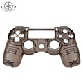 Transparent Replacement Front Shell Case Housing for PS4 Controller Mod Kit JDM010