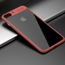 China manufacturer cheap price pc tpu transparent case for iphone 7 case back cover