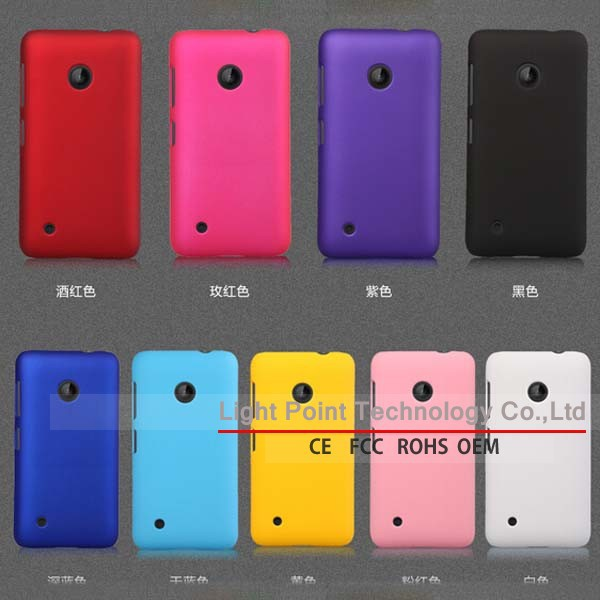 new product mobile phone flip case plastic hard case For Nokia Lumia 530