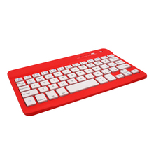 Hot Sell 7inch white ABS 59keys wireless Bluetooth Keyboard 2016 for ipad air 2 keyboard case
