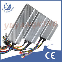 High power dc 96v electric car motor controller programmable