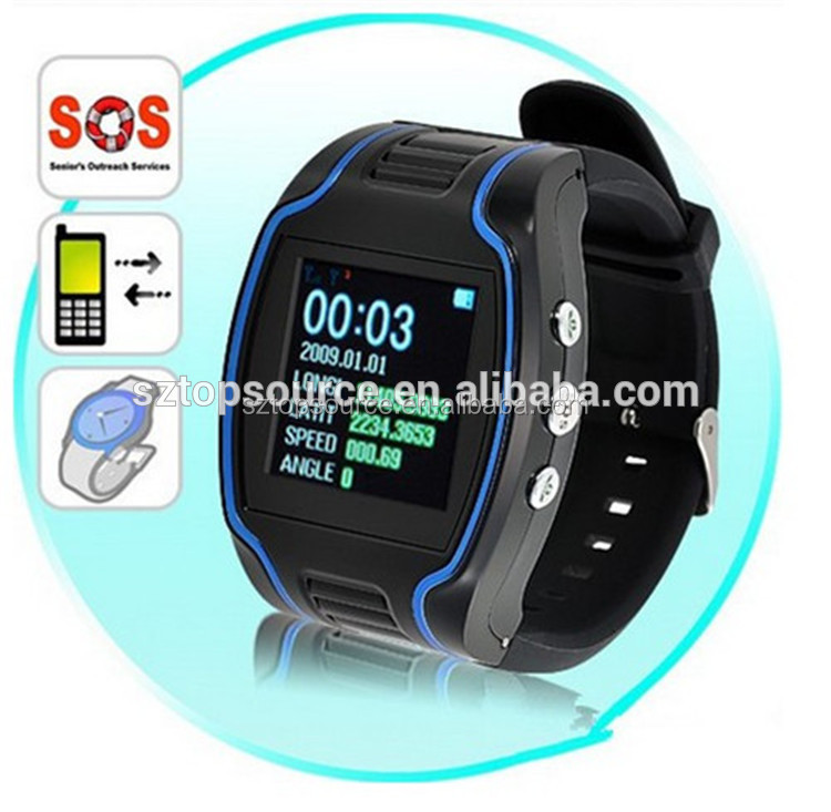 manufactory directly sale !Personal wrist Watch GPS tracker with SOS GPS tracker watch TK109