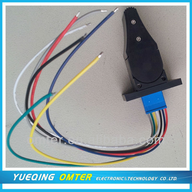 OM1A single  Hall type joystick for industrial