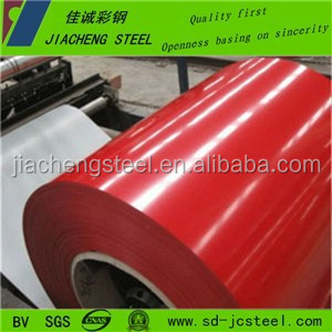 competitive color coated Galvanized steel