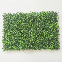 artificial boxwood mat for vertical green wall decoration grass panel