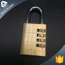 Hotsale and key combination padlock in heart shape
