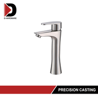 surface mounted shower stainless steel faucet