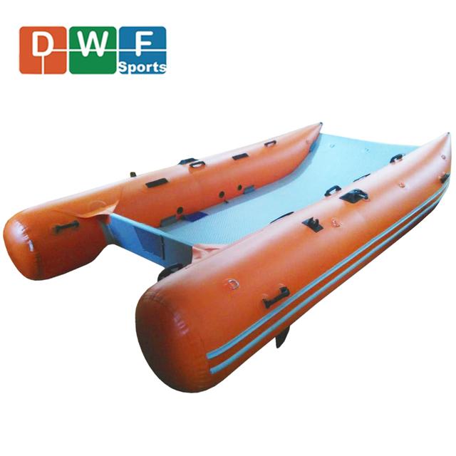 Inflatable Sailing Catamaran Sailboat 5 Meter Racing Hull for Sale
