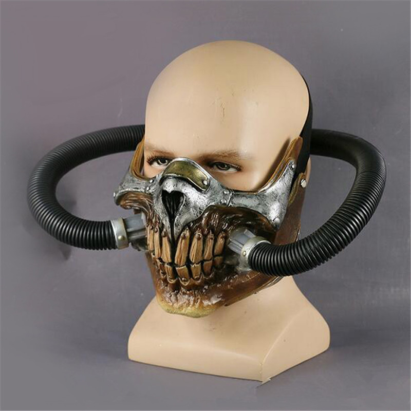 Cosermart Movie Mad Max Mask Helmet Punk Mask Skeleton Mask Halloween Devil Props Cosplay PVC Accessory Mask (5)