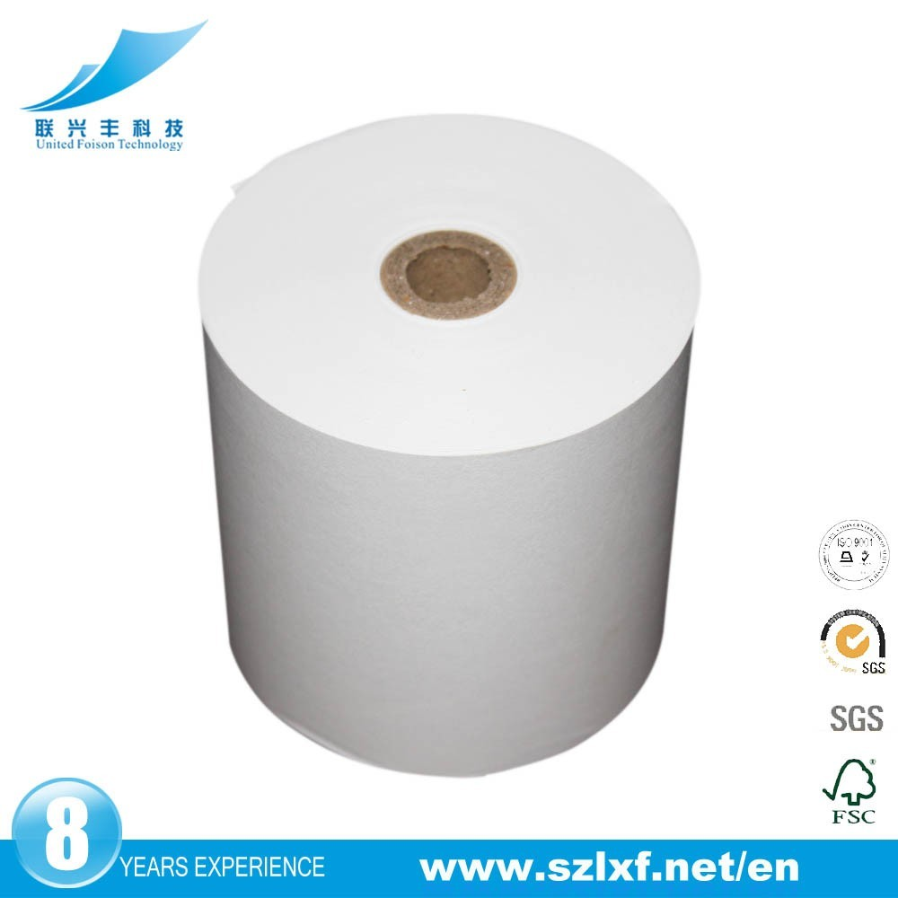 Premium Thermal Cash Register Paper Fax Paper Roll For Cashier