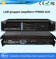 lab gruppen 2 channels bass pro power amplifier fp14000 with free spare parts supply