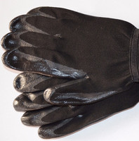 good quality SRSAFETY 13g black flex grip work gloves washable black nitrile gloves hand job gloves