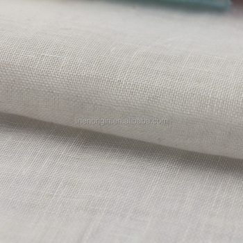 100% linen mesh fabric for garment