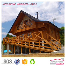 Japanese style 2-floor design Wooden home prefab log house 115.76 m2 KPL-104