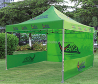 2016 customized printed logo pop up advertising folding tent