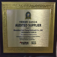 Made in China certificate with SGS report