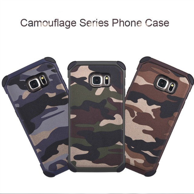 2016 Camouflage Design 3 in 1 TPU PC Case For samsung A7 Hard Cover Universal Mobile Phone Case