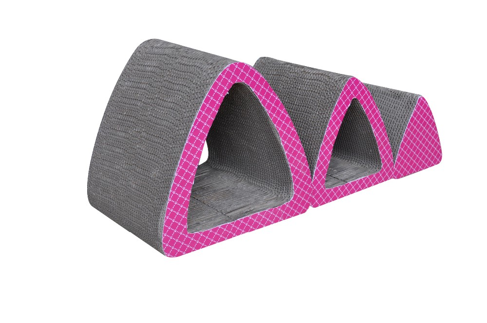 Shaped Pet Scratcher For Cat Play