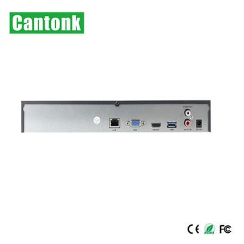 4K Support H.265 NVR 16CH Remote View with hard disk optional