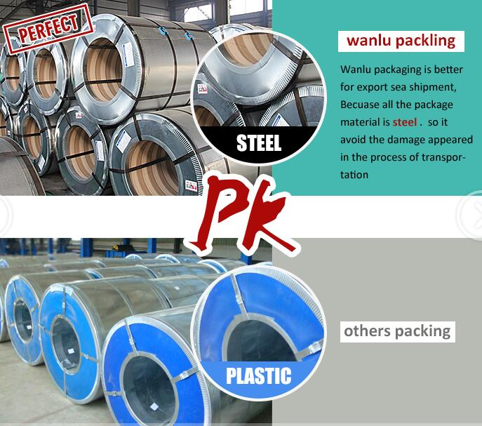 Dx51d hot dip galvanized steel coil price per ton