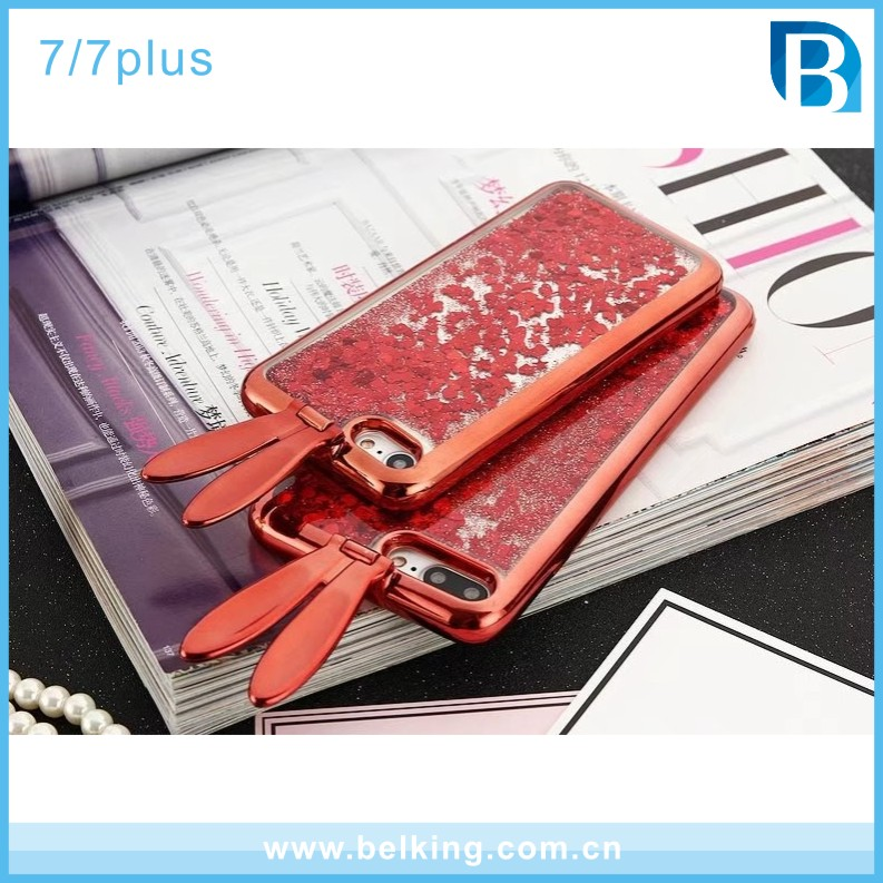 Mobile phone accessories,Glitter Shiny Phone Case for iPhone 6 Plus , for iphone 6 case back cover