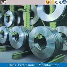 Heavy duty cantilever steel coil rack