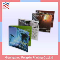 Custom Luxury Advertising Cheap Business A4 Matte Laminate Company Product 157G Art Paper Brochure Printing Service
