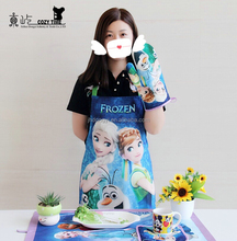 High quality hot selling custom cute wholesale kitchen printed apron