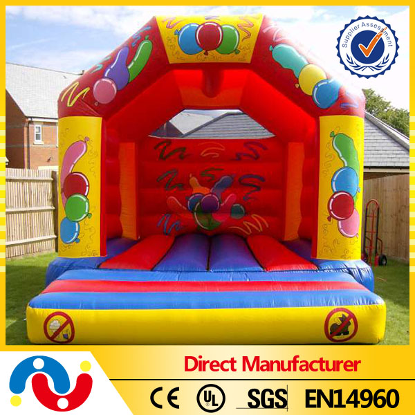 Wholesale inflatable Bouncer/moonwalk jumping bed combo castle