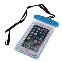 underwater dry case cover mobile phone pouch waterproof cell phone case for canoe kayak rafting camp swimming drifting