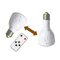 Factory price 3 hours backup time rechargeable 5W led remote control emergency lamp