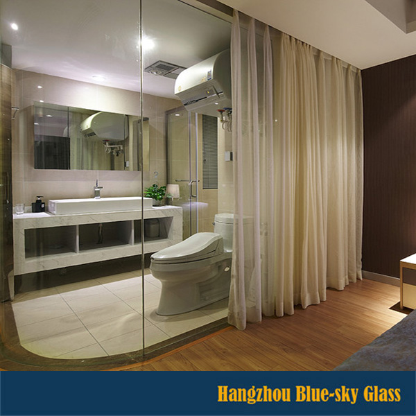 LT 10mm 12mm 15mm living room glass partition with low price