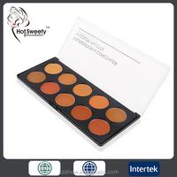 10 color palette concealer & foundation fda approved whitening creams creat custom label