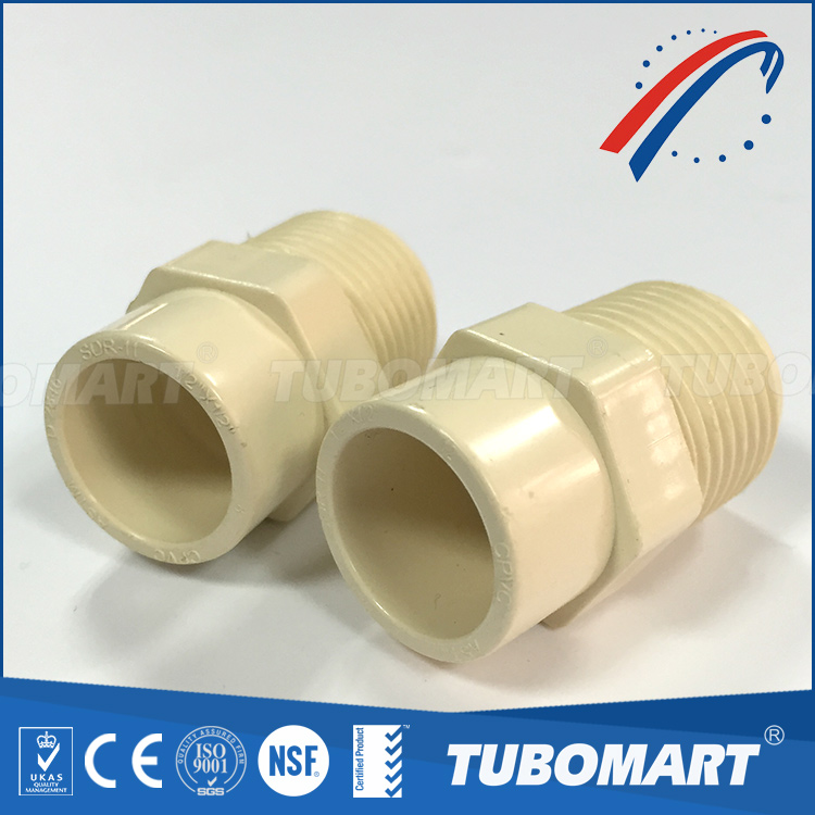 China supplier CPVC FEMALE ADAPTER plastic pipe pvc pipe fitting cpvc pipe fitting
