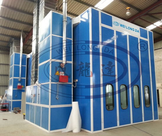 WLD15000 ( CE ) Truck/Bus Paint Booth