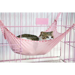 FREE SHIPPING Summer Choice Under Chair Breathable Air Mesh Pet Cage Hammock Cat Bed Hammock L size