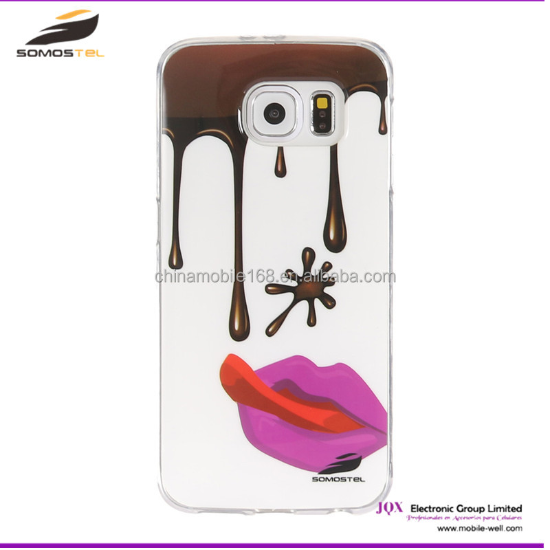 [somostel] design mobile phone back cover custom cases for samsung galaxy s4 case fundas para celulares for girl