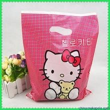 Biodegradable OEM Japnaese Cartoon Logo Gravure Printed Plastic Shopping Bag