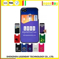 Best Brand silicone new design mobile phone pouch