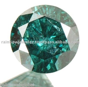 1.55Ct. NATURAL SOUTH AFRICA BLUE-GREEN LOOSE DIAMOND SOLITAIRE - Loose Diamonds wholesale
