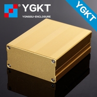 YGS-003-76x35x95 mm Aluminum profile electronic round box enclosure case