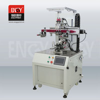 CE Automatic Single Color cd Silk Screen Printing Machine for Sale, Electric Vertical vacuum PCB Screen Printer