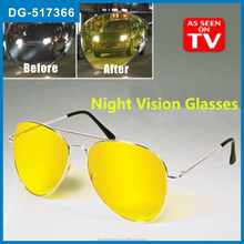 Hot Selling Yellow HD Night Vision Aviator Glasses