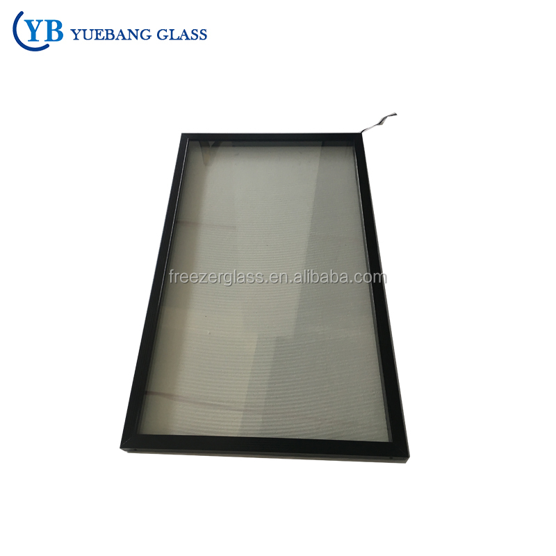 New Style Solar Deep Cold Room Two Freezer Glass Doors