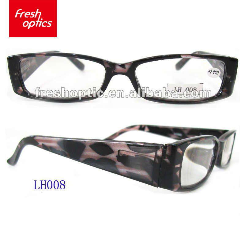 New style cheap fancy fashion magnetic plastic reading eyewear glasses spectacle frame for sale