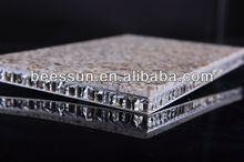 Fire Prevention Aluminum Honeycomb Panels with Stone