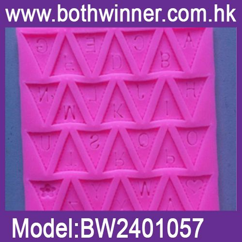 DA117 baroque veins shape cake decoration mould